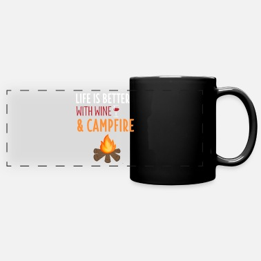 Campfire Scout Shirt Camping Hiking Camper Campfire GIft - Full Color Panoramic Mug