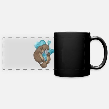 Cute Platypus - Full Color Panoramic Mug