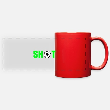 Grass Soccer Shot - Full Color Panoramic Mug