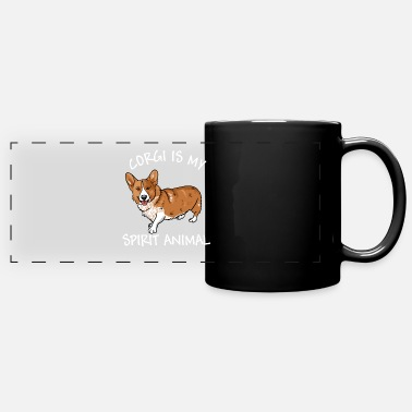 Corgi Is My Spirit Animal - Full Color Panoramic Mug