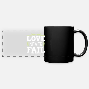 Catholic Bible verse Bible Jesus Faith - Full Color Panoramic Mug