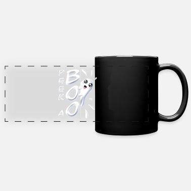 Halloween | Peek a Boo Ghost Halloween Costume - Full Color Panoramic Mug