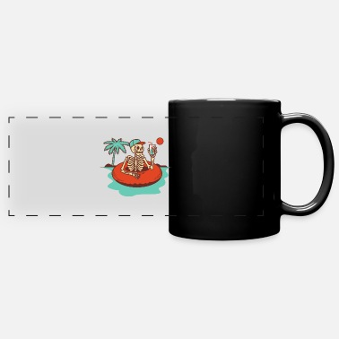 Bone beach day - Full Color Panoramic Mug