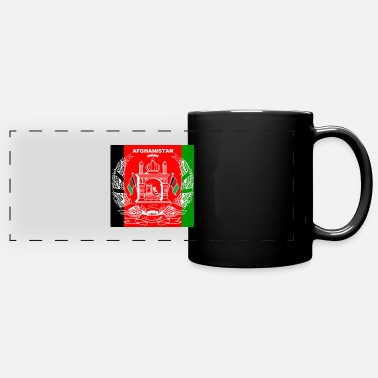Mobile Afghan Logo-Flag Colors - Full Color Panoramic Mug