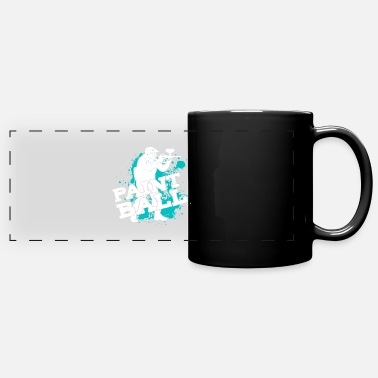 Speedball Paintball Player My Paintball Airsoft Speedball - Full Color Panoramic Mug