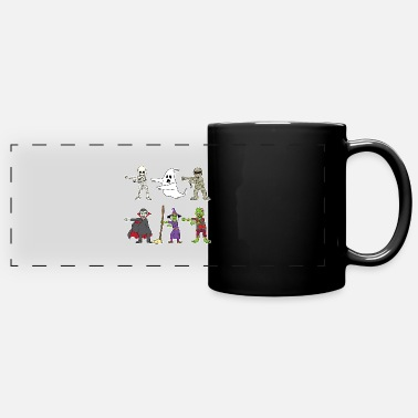 Vampire Halloween Monsters Vampire Witch Zombie Ghost Gift - Full Color Panoramic Mug