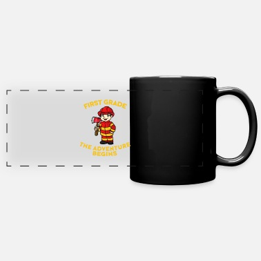First Easter Fireman First Grade Adventure 2020 - Full Color Panoramic Mug