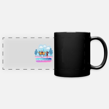5 Seconds Of Summer Musician Funny - Full Color Panoramic Mug