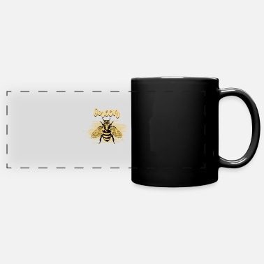 Bumble Bee Queen Bee - Full Color Panoramic Mug