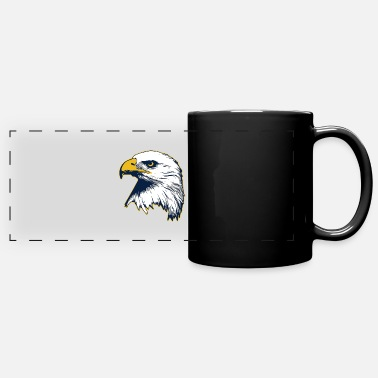 Beak Eagle Bird Bald Eagle Head - Full Color Panoramic Mug