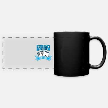 Bluff Bluff them - Full Color Panoramic Mug