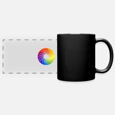 Art Color Palette - Full Color Panoramic Mug