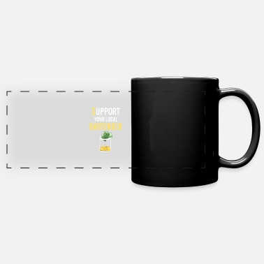 Support Your Local Bartender Drinking Gift - Full Color Panoramic Mug