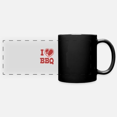 Meat Funny Gift BBQ Barbeque Grill Shirt - Full Color Panoramic Mug