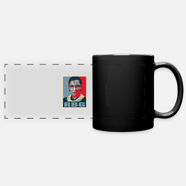 Notorious RBG Ruth Bader Ginsburg - I Dissent - Full Color Panoramic Mug