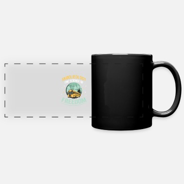 Skoolie Skoolie Fan Quote for a Skoolie Owner - Full Color Panoramic Mug