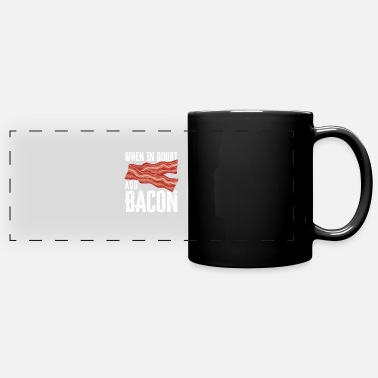Hog For Bacon Lovers My Favorite Animal Is Bacon - Full Color Panoramic Mug
