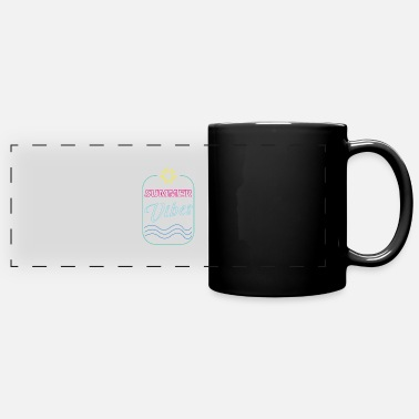 Summer Trend Summer Vibes Trend Sun - Full Color Panoramic Mug