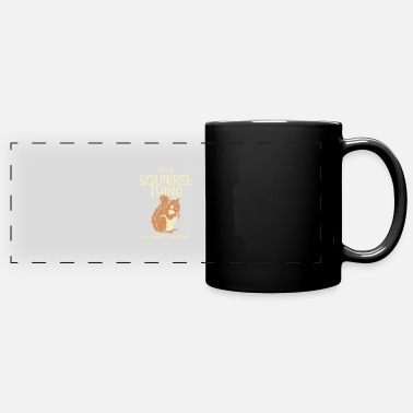 Squirrel Hunt Squirrel Hunting Chipmunk Acorn Squirrel Whisperer - Full Color Panoramic Mug