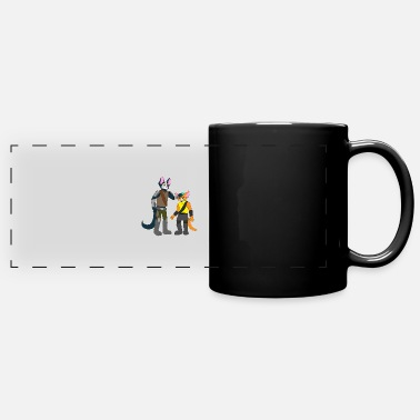 Avocato and Little Cato - Full Color Panoramic Mug