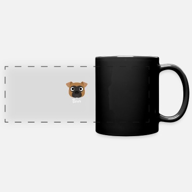 Boxer Boxer - Boxer Dog - Full Color Panoramic Mug