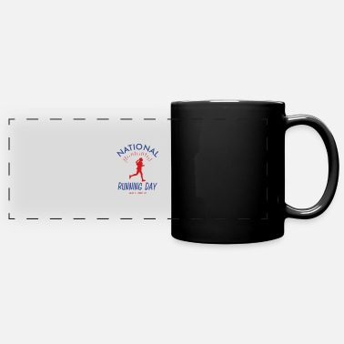 Custom Crossfit National Womens Running Day - Full Color Panoramic Mug