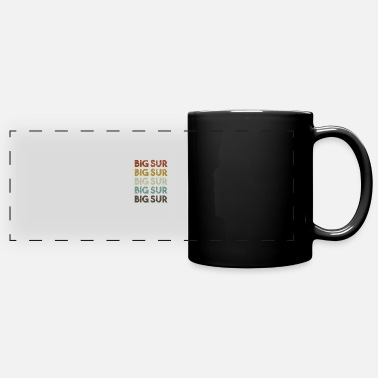 California Kids Retro Big Sur California - Full Color Panoramic Mug