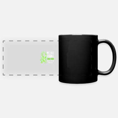 Health Mental Health Awareness We All Fight Together - Full Color Panoramic Mug