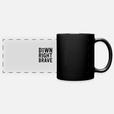 Communism Down Right Brave Shirt Down Syndrome Awareness - Full Color Panoramic Mug