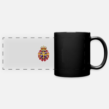 Military Canadian Army Logo - Full Color Panoramic Mug