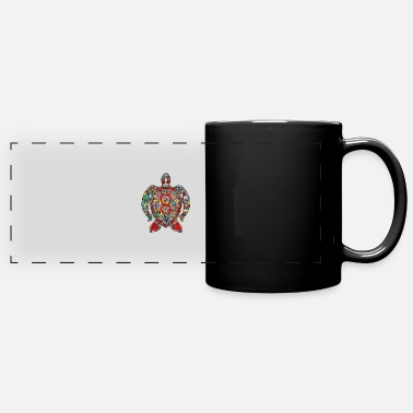 Sea Turtle sea turtle - Full Color Panoramic Mug