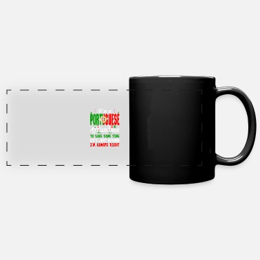 Portuguese Im A Portuguese Grandma - Full Color Panoramic Mug