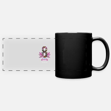 Womens Day womens day 8 march HAPPY - Full Color Panoramic Mug