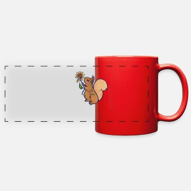 Squirrel Squirrel - Full Color Panoramic Mug
