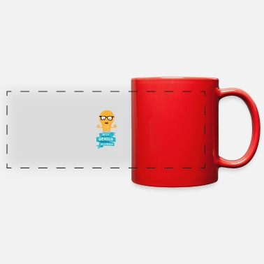 ditzy Genius grandson - Full Color Panoramic Mug