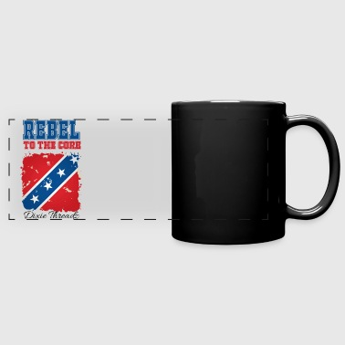 Dixie Threadz - Rebel to the core! - Full Color Panoramic Mug