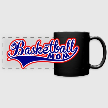 Basketball Mom Swoosh - Full Color Panoramic Mug