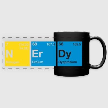 Shop nerdy periodic table gifts online spreadshirt nerdy periodic table word full color panoramic mug urtaz Gallery