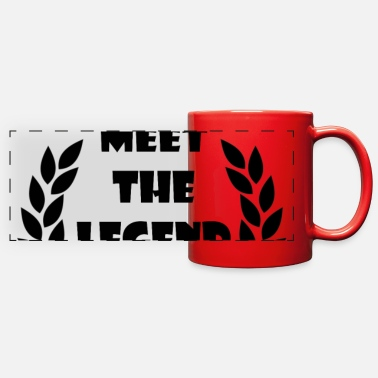 Meet the Legend - Full Color Panoramic Mug