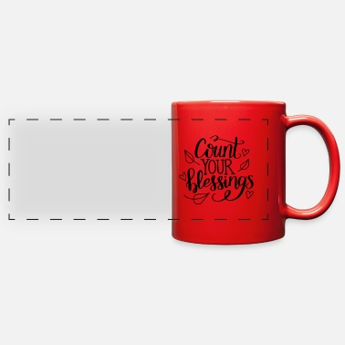 Count-royal Count your blessings - Full Color Panoramic Mug