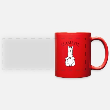 Llamaste Yoga - Full Color Panoramic Mug