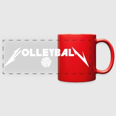 Volleyball Style - Full Color Panoramic Mug