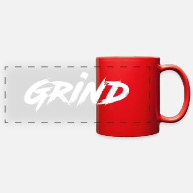 Grind grind - Full Color Panoramic Mug