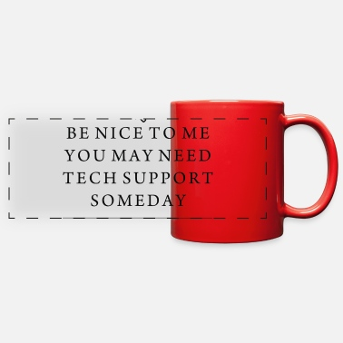 Computer Geek COMPUTER GEEK SMART - Full Color Panoramic Mug