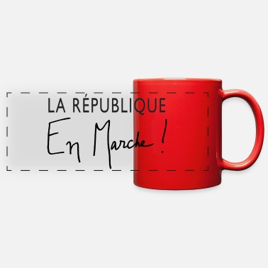 Le Have A Party La Republique En Marche! - Full Color Panoramic Mug