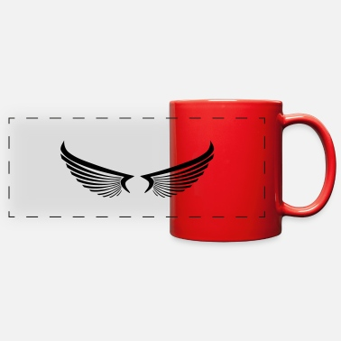 Wing wing wings - Full Color Panoramic Mug