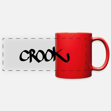 Crook crook - Full Color Panoramic Mug