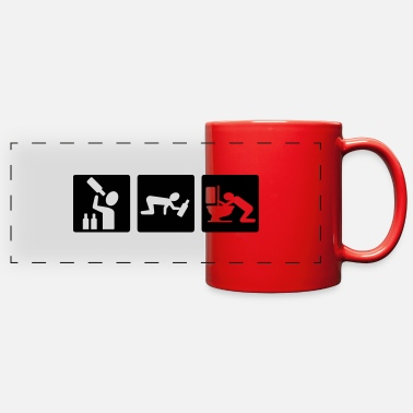 Party alcohol - Full Color Panoramic Mug