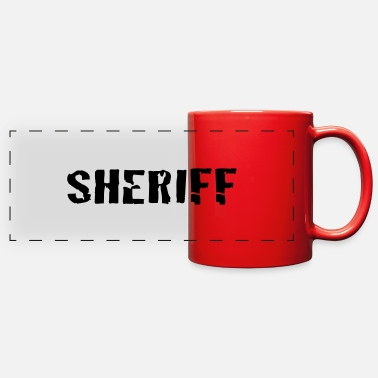 Sheriff sheriff - Full Color Panoramic Mug