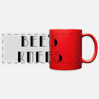 Bee's knees -vintage slang - Full Color Panoramic Mug